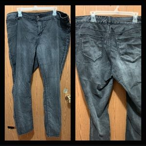 1a853e70b22 Maurice's Gray-Wash Jeggings